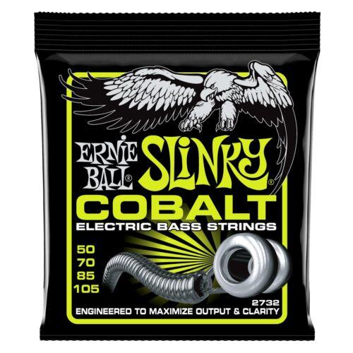 Ernie Ball 2732 Regular Slinky Cobalt Bass Allround 050-105 4-String Bass Saiten