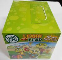 Leap Frog 10-dvd Mega Pack Travel Case Brand