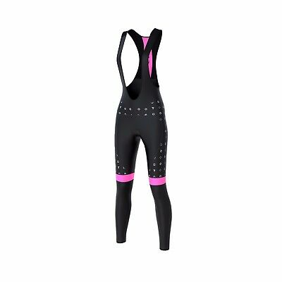 FDX Women's Cycling Bib Tights Winter Thermal Gel Padded Pants Cycling Trouser