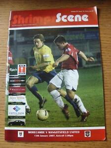 13-01-2007-Morecambe-v-Mangotsfield-United-FA-Trophy-press-clippings-laid-dow