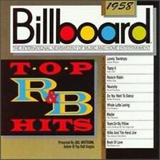 Billboard Top R&B Hits: 1958 by Various Artists (CD, 1989, Rhino (Label))