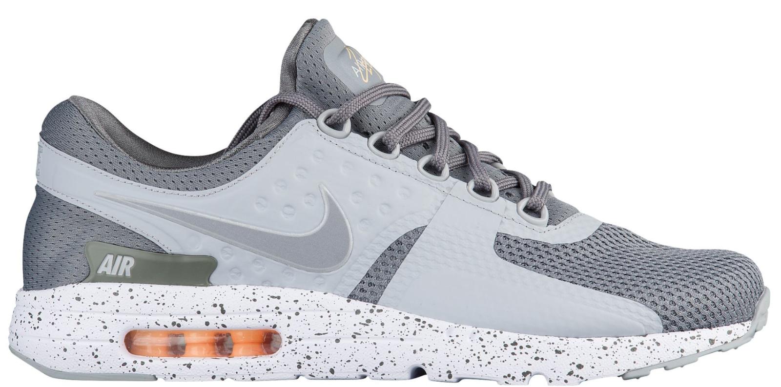 NEW Men's Nike Air Max Zero Premium Shoes Sneakers Size: 6 Color: Gray