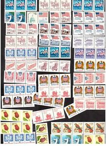USA-COIL-STAMPS-MINT-NH-FACE-VALUE-LOT-OF-US-18-80-CAD-25-50