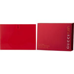 8c608df5485 GUCCI RUSH 50ml EAU DE TOILETTE SPRAY FOR WOMEN BY GUCCI         NEW ...
