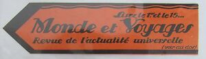 Antique-Brand-Pages-Bookmark-Advertising-Press-Journal-World-and-Voyage-Topical