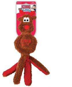 Holiday-Wubba-Flatz-Reindeer-for-Dog-Toy-Fetch-and-tug
