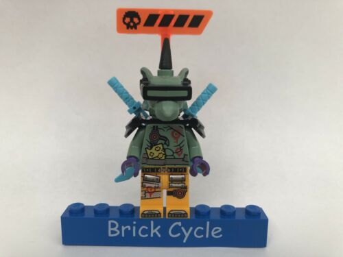 Lego Hausner Minifigure From Ninjago Sets 71709 /& 71711 New njo573