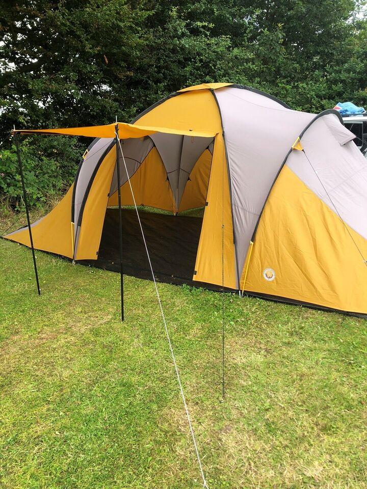 6 personers telt