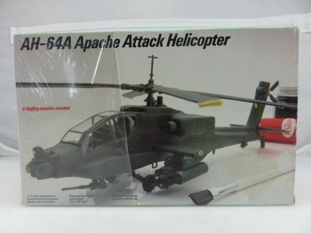 Italeri Ah-64a Apache 1:72 Scale
