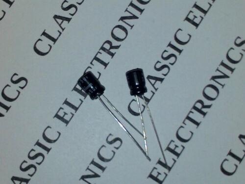 Nichicon 3.3uF 50V Non-Polarized Radial Leads Electrolytic Capacitor USA Seller