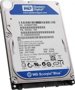80-SATA-Western-Digital-Scorpio-Blue-WD800BEVT-75ZCT2-Fetsplatte