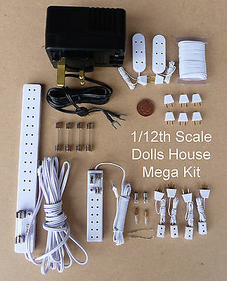 1:12 scale tumdee maison de poupées miniature 12 V Lighting Accessoire Mega Starter