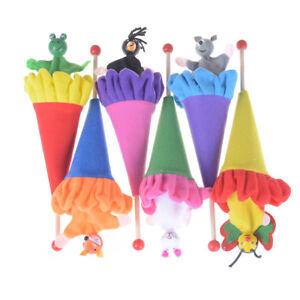 Spielzeug-Tiere-Kaninchen-Fox-Frog-Bee-versenkbare-Versteckspiel-Kinder-lus-stYT
