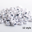 NEW-200-1000pcs-7mm-Mixed-A-Z-Alphabet-Letter-Acrylic-Spacer-Beads-heart-bead thumbnail 14
