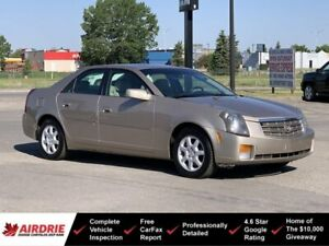 2005 Cadillac CTS 2.8L V6 - Low KMs! **Mechanic Special**