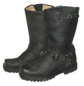 """fette """" SANCHO """" Herren- Biker- Stiefel / Western- Boots in schwarz in Gr. 41"""