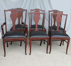 Antique-Set-of-Six-Matching-Mahogany-Dining-Chairs