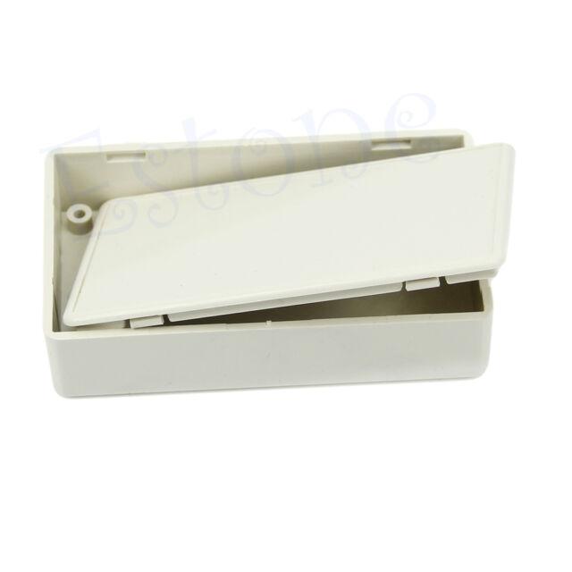 """Plastic Enclosure Case DIY Electronics Project Box 3.34""""L x 1.96""""W x 0.83""""H"""