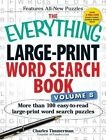 The Everything Large-Print Word Search Book: More Than 100 Easy-to-Read Large-Print Word Search Puzzles: Volume 8 by Charles Timmerman (Paperback, 2014)