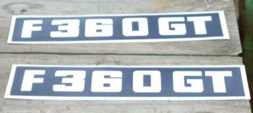 Typenkennzeichen FENDT F 360 GT  Geräteträger GTA Aufkleber 2x Kabine Top  P24