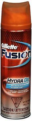 Gillette Fusion HydraGel Shave Gel Moisturizing 7 oz (Pack of 5)