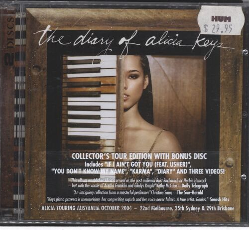 1 of 1 - Alicia Keys - Diary of Alicia Keys 2CD (vgc)