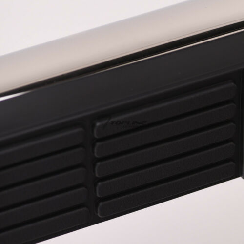 """Topline For 08-13 Nissan Rogue 3/"""" Side Step Nerf Bar Running Board HD Stainless"""