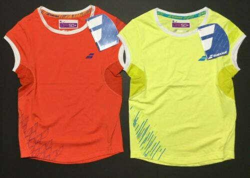 New Babolat Sport Tennis Cap Performance Sleeveless Shirt Lot Youth Girl/'s 6-8 M