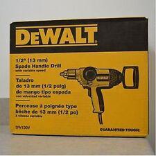 "NEW DEWALT DW130V ELECTRIC HEAVY DUTY 1/2"" 9 AMP T-HANDLE REVERSIBLE DRILL"