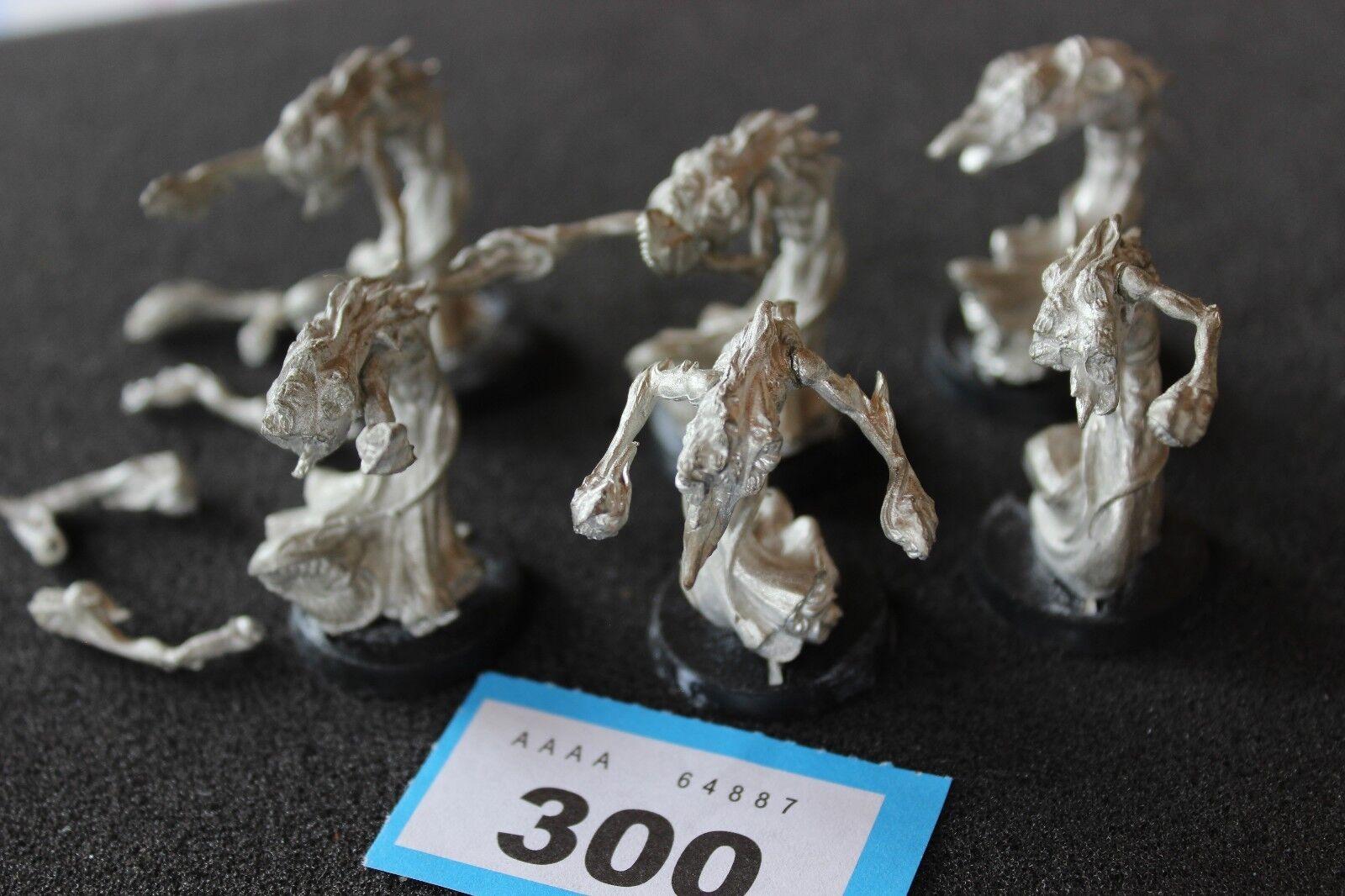 Warhammer Fantasy Chaos Flamers of Tzeentch x6 Metal Mint Games Workshop OOP