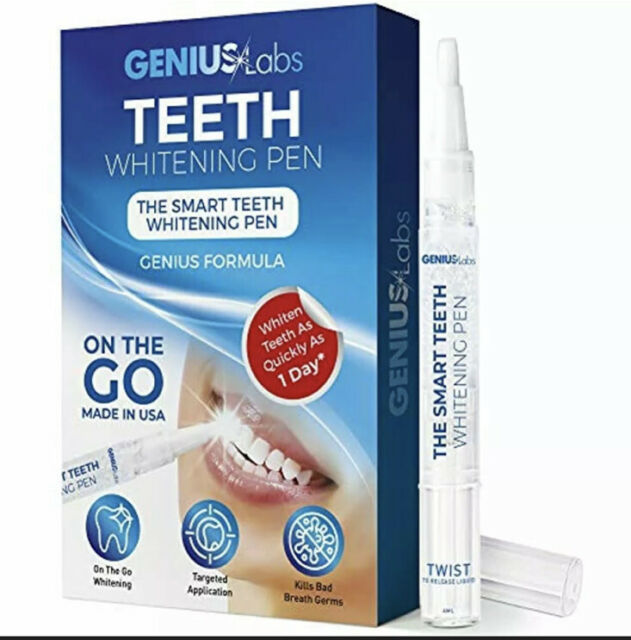 Genius Teeth Whitening Pen 4ml Effective Painless No Sensitivity