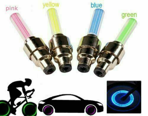 Bicicleta de la bici habló la rueda de alambre de colores de luz LED 3 Modelos