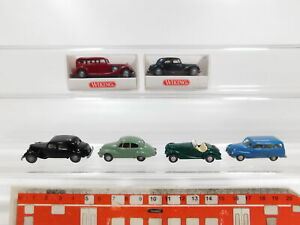 Cg376-0, 5# 6x Wiking h0/1:87 Oldtimer: 825 autresdomaines + CITROEN + BMW 328 + DKW, Neuw