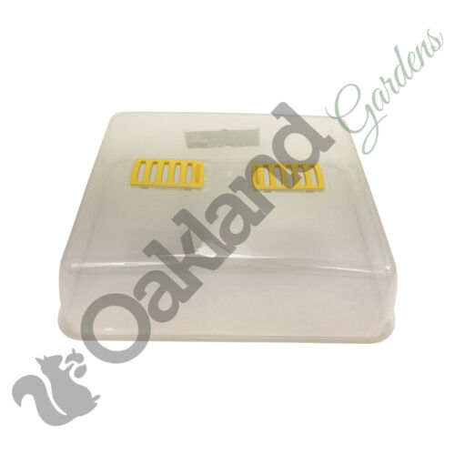 4 x 52cm Rigid Propagator Lid Seed Tray Tops Pots Trays Frost Protection Lid
