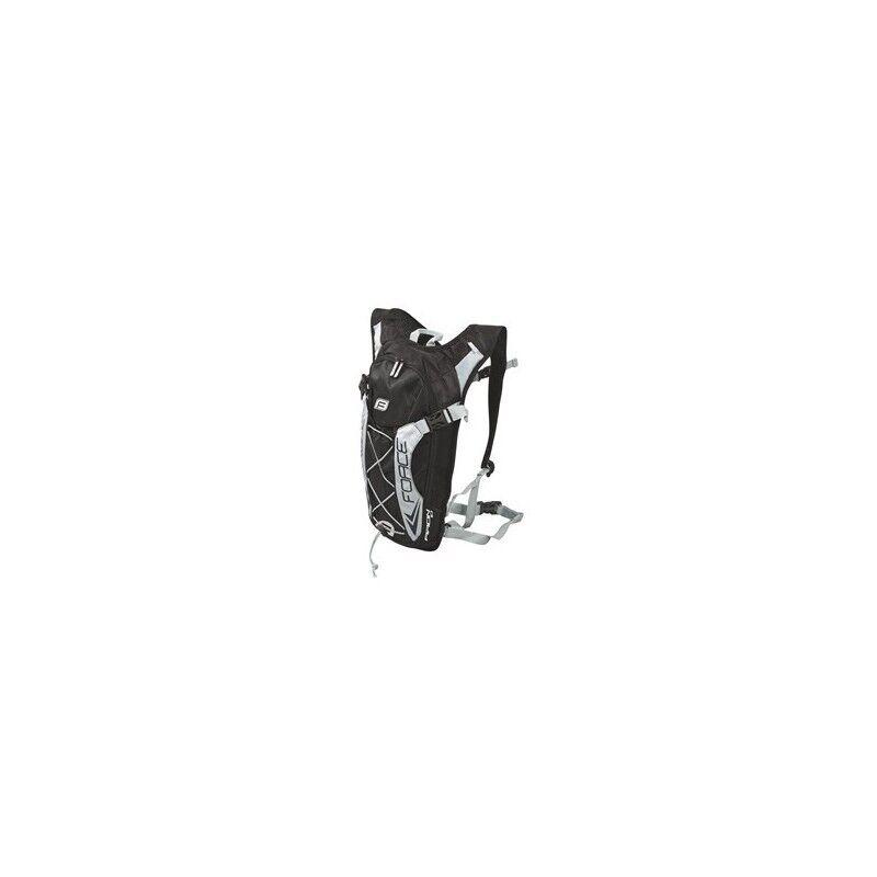Zaino idrico MTB FORCE Aron 10 litri black