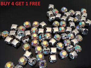 Sew-on-Rhinestone-Gems-AB-Crystals-Diamante-Diamonds-for-Wedding-Arts-AAA-Grade