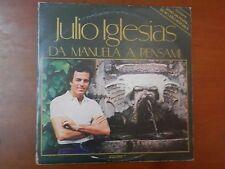 DA MANUELA A PENSAMI Julio Iglesias Doppio vinile 33 giri CBS Cofanetto apribile