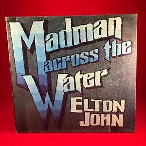 ELTON-JOHN-Madman-Across-The-Water-1971-UK-Vinyl-LP-EXCELLEN-original-rocket-man