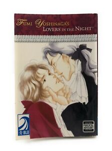 YAOI-Fumi-Yoshinaga-039-s-Lovers-in-the-Night-Manga-Graphic-Novel-Anime-RARE