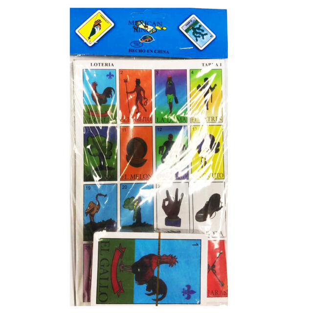 picture about Loteria Game Printable identified as PK Mexican LOTERIA Bingo Match 10 PLYAERS 10 Discussion boards 54 Playing cards Entire