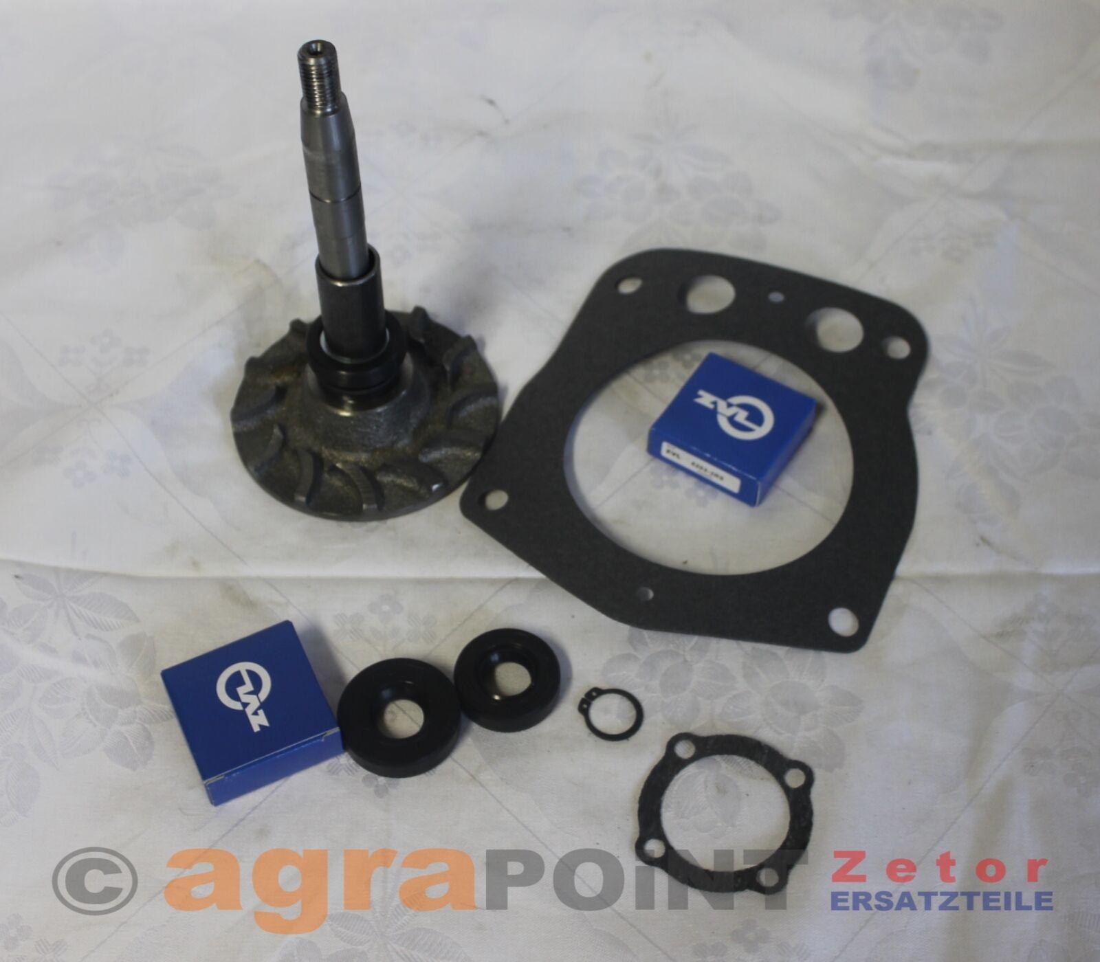 Zetor 25A K - Wasserpumpe - Reparatur-Set - Z25800.07 - by agrapoint