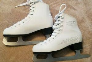 Lake-Placid-Glider-4000-Women-039-s-Figure-Ice-Skates-White-Size-5