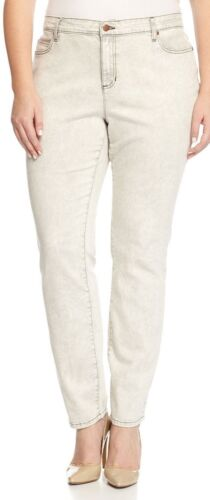 Eileen Fisher Mineral Gray Skinny Jeans Size 24w