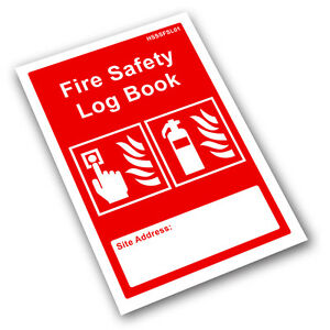 fire safety log book business landlord checks tests