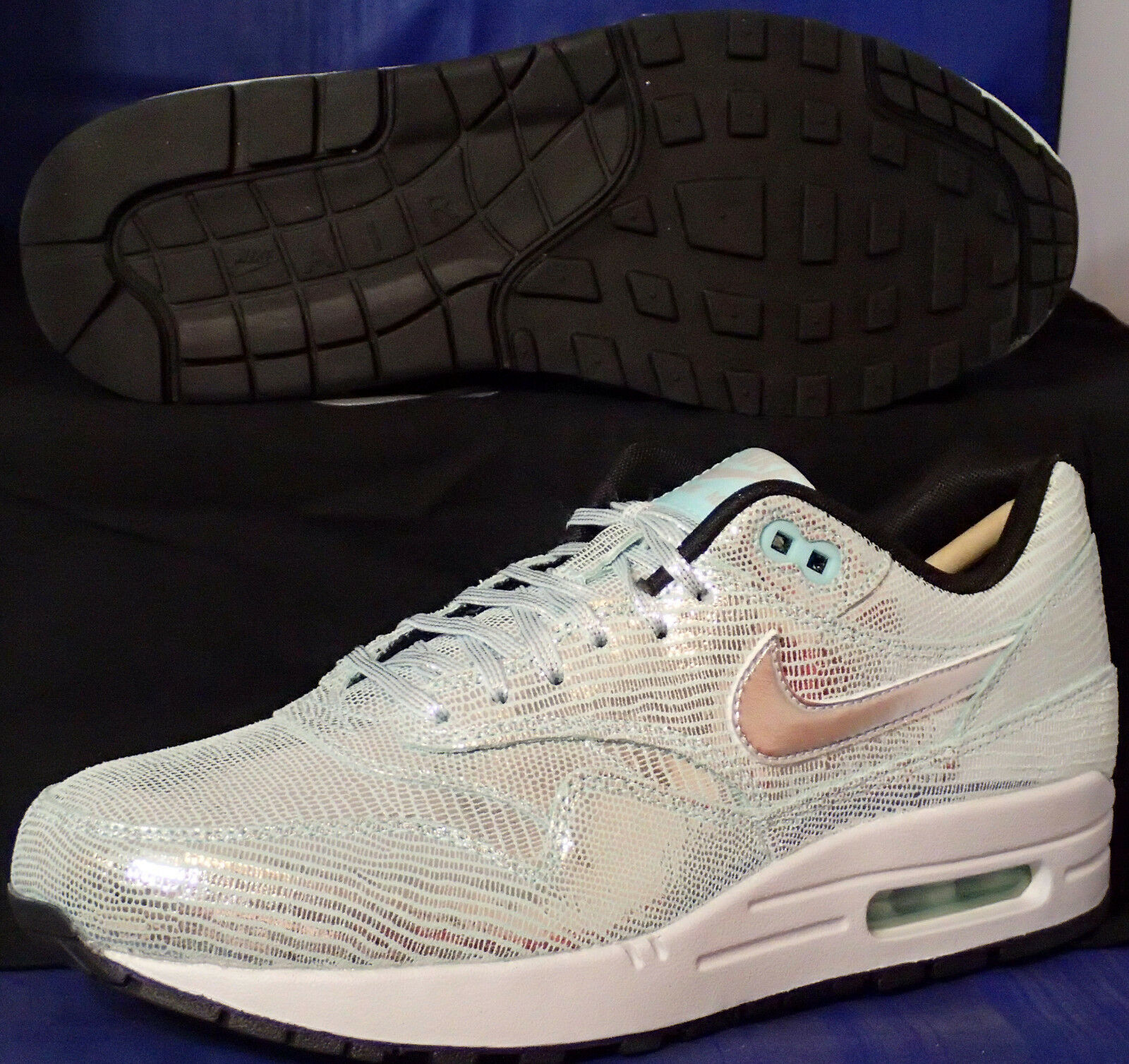 Womens Nike Air Max 1 QS Disco Ball SZ 8 ( 633737-001 )