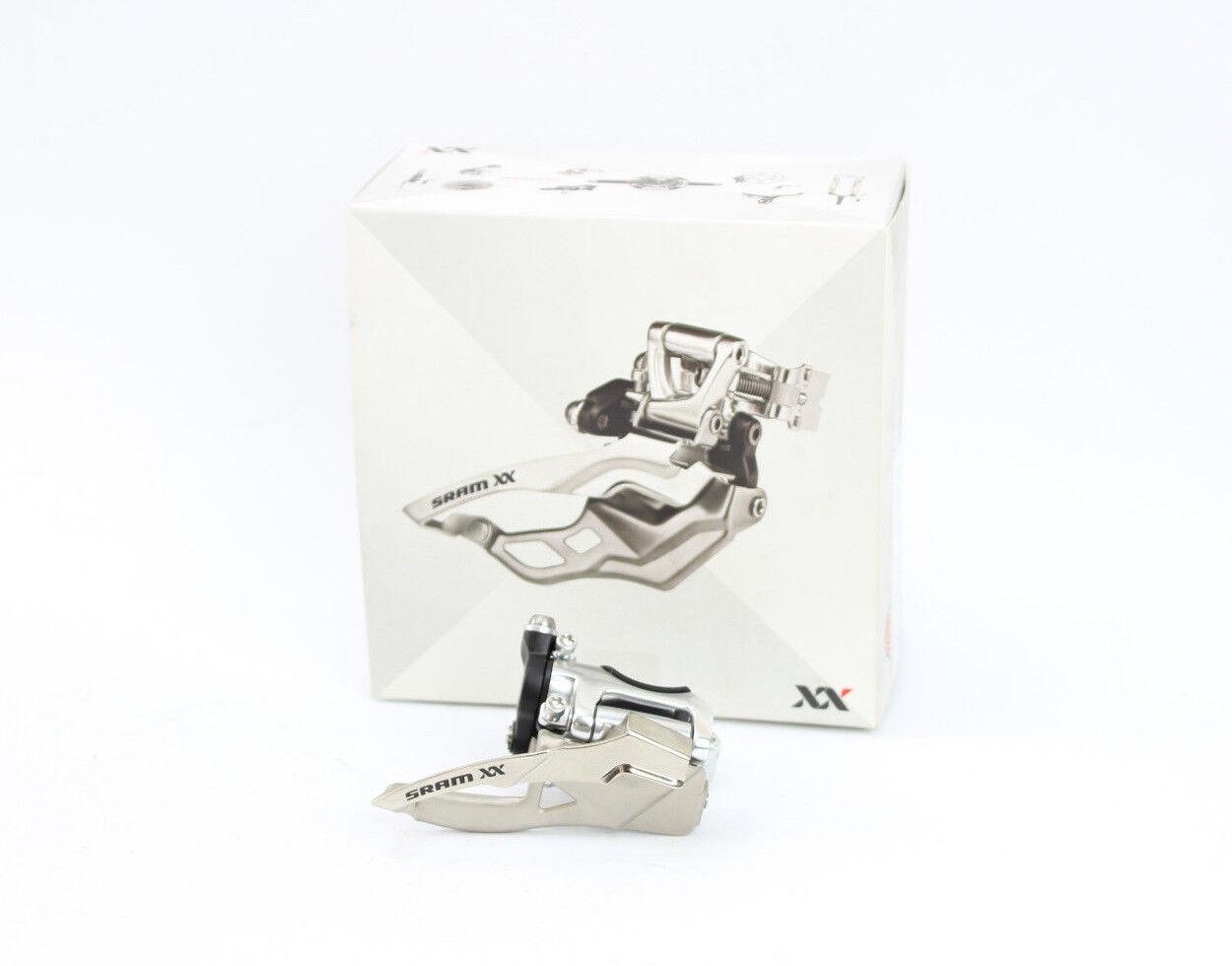 SRAM XX Low Clamp 2x10 Compartiment dérailleur/Nouveau/Bottom Pull 31,8 31,8 31,8 34,9 mm Collier Neuf dans sa boîte fe5b8b