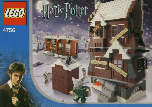 NEW SEALED IN BOX HARRY POTTER LEGO SET # 4756 THE SHRIEKING SHACK