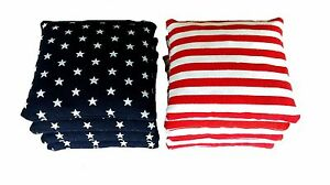 Stars-and-Stripes-8-Regulation-Cornhole-Bags-American-Flag-Bag-High-Quality