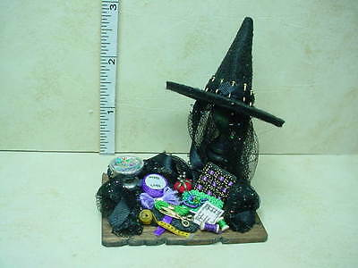 701 MINIATURE DOLLHOUSE 1:12 SCALE SIR THOMAS THUMB WITCH/'S BROOM