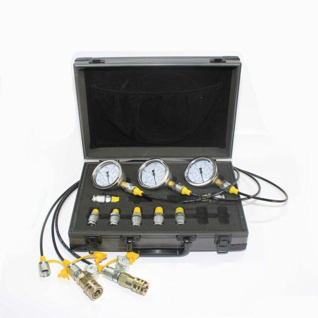 Caterpillar Pressure Gauge Test Group Hoses And Adaptors
